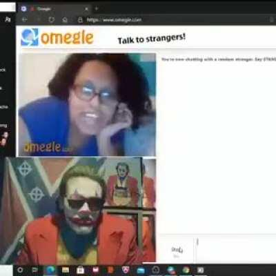 Guess I found pyrocynical on omegle!!!😱😱😱😱😱