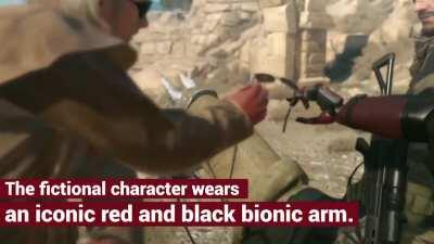 """Open Bionics have teamed up with Konami to release an official """"Venom Snake"""" bionic arm for below-elbow amputees."""