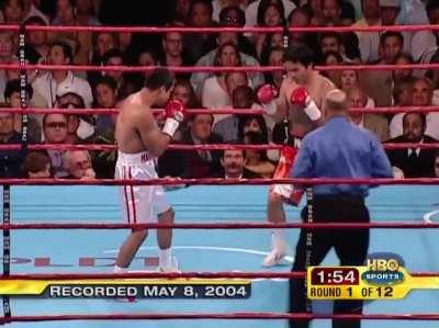 The legendary first round of Pacquiao Marquez I