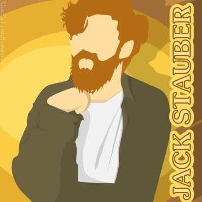 This day, last year, I made a small animation of Jack Stauber with Powerpoint. It's turned out great & perfect loop, too!