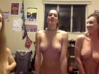 Awkward College Girl Talked Into Fucking A Wine Bottle By Her Friends (Video In Comments Of Everyone Taking A Turn)