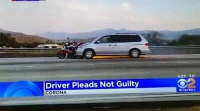 Driver pleads not guilty