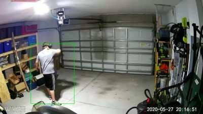 Putting A Camera In My Garage, Either The Worst Or Best Decision