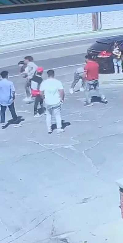 Man takes out entire squad