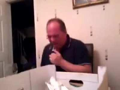 Found this gem at youtube, dad sneezing