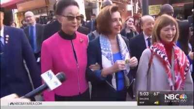 We LITERALLY have video of Nancy Pelosi urging Americans to pack the streets and businesses of Chinatown in San Francisco at the height of COVID entering the United States, and yet that is never brought up by the media as a terrible decision.