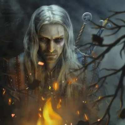 Geralt of Rivia from the witcher 1