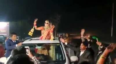 MMC after car rams wedding guests. NSFW