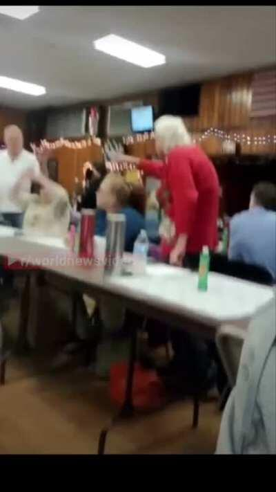 Bingo night gets out of hand
