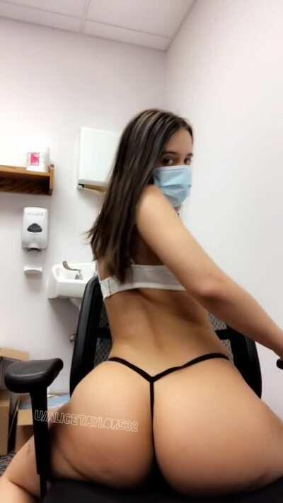 What's happening when you see me in your office [F]