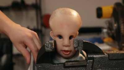 Making a baby with laser eyes