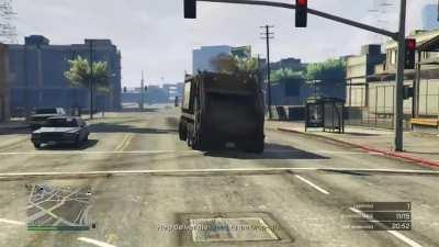 Probably the cleanest drift I've ever seen with the Trash Truck.