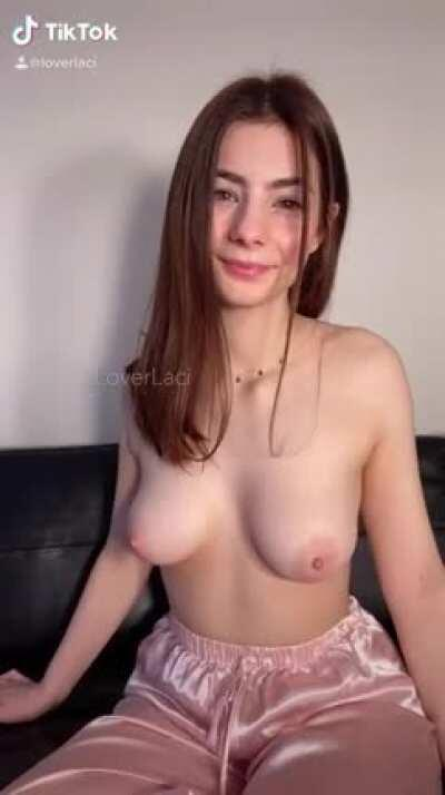 This is my favorite way to reveal my tits!