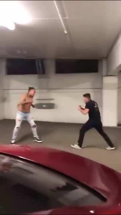 MMA experience vs street fight experience - 2 in 1