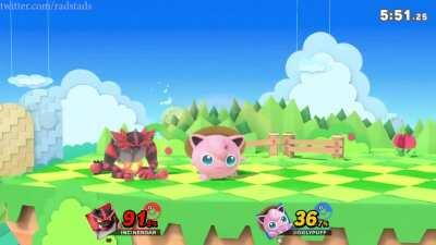 As a smash player, I feel bad for the incineroar