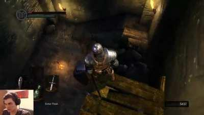 First time playing Dark Souls