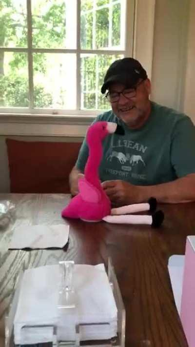 My Dad's Fathers Day gift from Korea finally got to the East Coast. I have watched his reaction at least 10 times today. Please enjoy.
