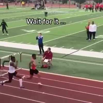 WCGW if one set of hurdles is set up wrong