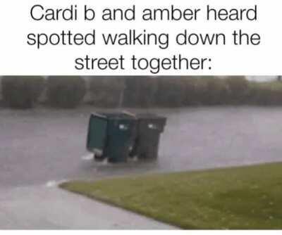 Cardi and amber.