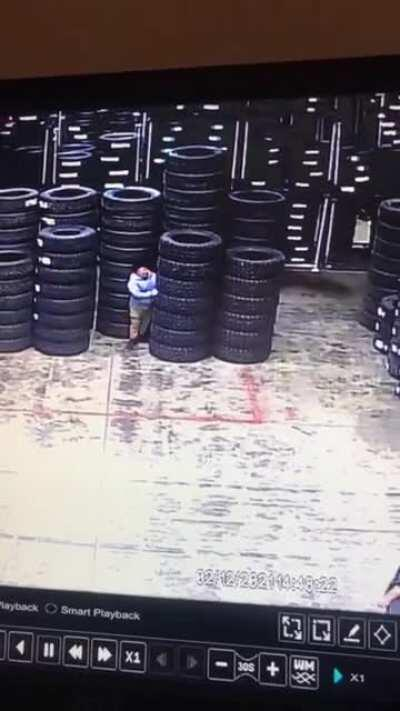 WCGW pushing over the tires