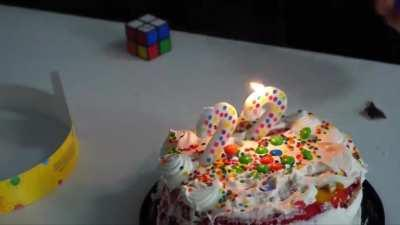 Who are you to blow off my candles?!?!