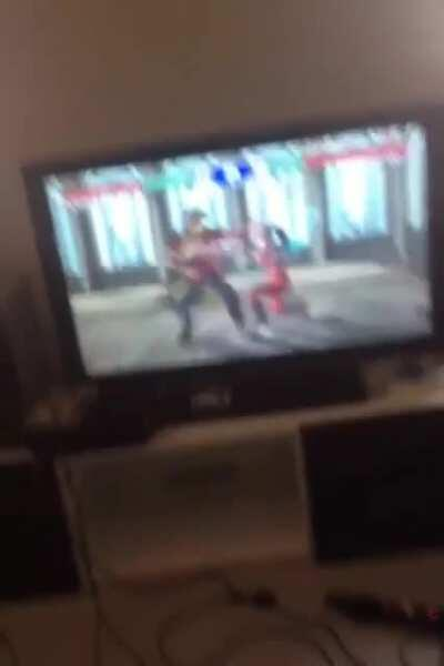Soul Caliber 2 with the lads