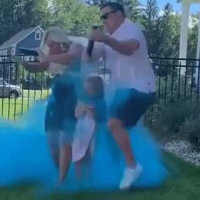 maybe be their last gender reveal party