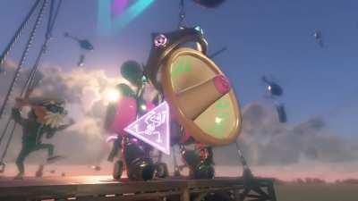 Splatoon 2's Pearl shows off her angelic voice