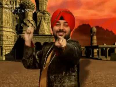 Ladies and gentlemen, I present to you the one and the real Tunak Tunak Muta