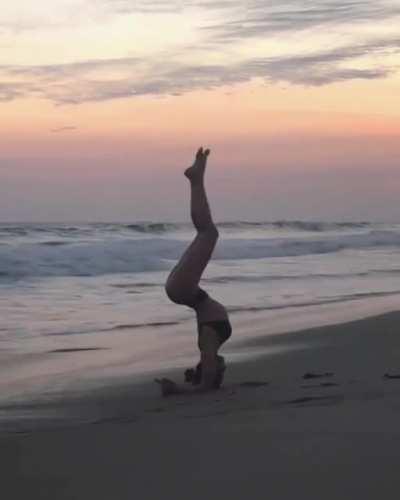 WCGW beach yoga