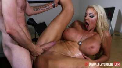 Nicolette Takes A Classic Danny D Cum Spray