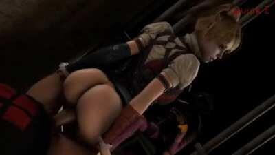 Harley Quinn getting fucked (Quick E)