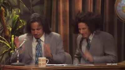 Andy Samberg was on the Pauly D episode?!