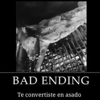 NoOOOOOooooOOooOOo bad ending