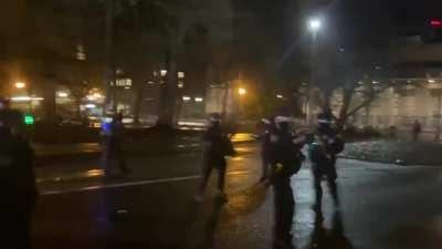 New Year, same liberal riots in Portland