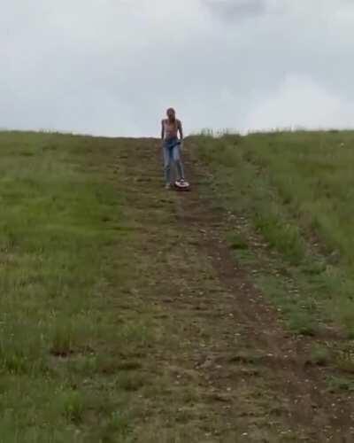WCGW if I skate down the hill.