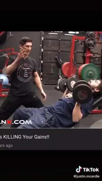 Killing your gains