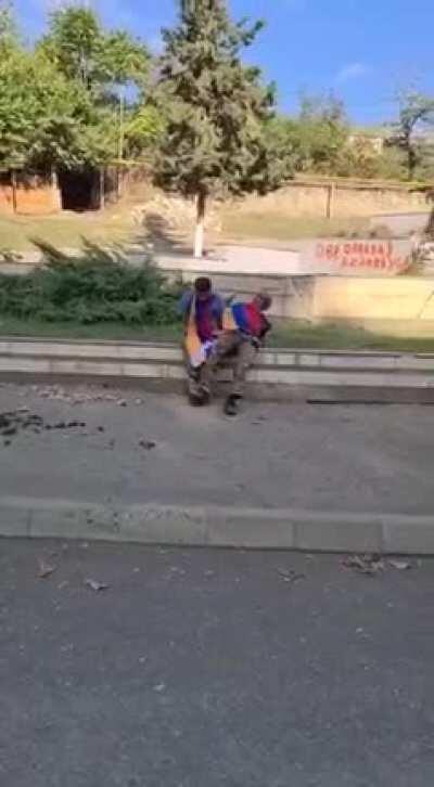 Расстрел армян в Нагорном Карабахе