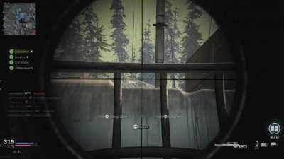 Warzone Sniping Through Crates