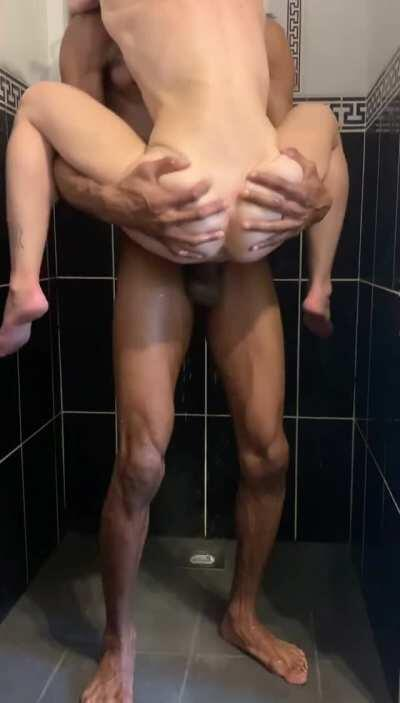 Do you shower after sex or during?