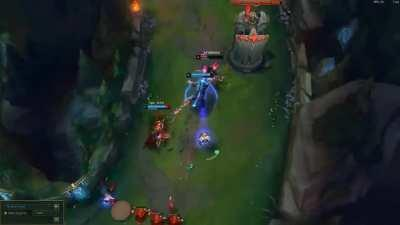 When your botlane's in it's element