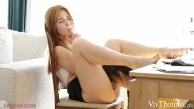 Haily Sanders & Jia Lissa Business Or Pleasure [1440p]