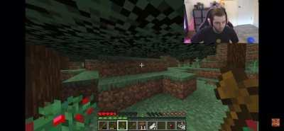 Minecraft is a horror game..