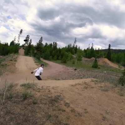 Heading to the mountains hit different in the off season. I took a few mountainboarding laps at Frisco Bike Park recently and had a blast. What's everyone else up to this summer?