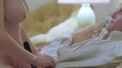 Alexandra Daddario in True Detective.