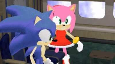 replace amy with that random trap cosplayer on sbr that either begs for the win or spin in the middle of a fight and sonic with everyone