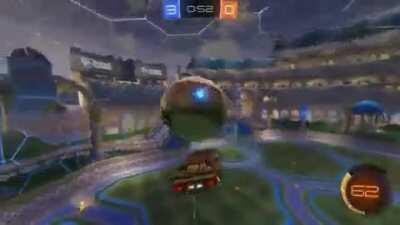 Flip reset right under the opponent