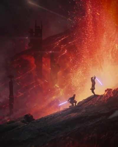 Obi-Wan Kenobi VS Anakin - Moster Version