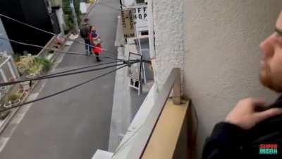 Touching electrical wires challenge