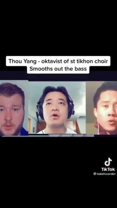 The lowest singing bassists in the world assemble virtually for an incredibly unique sounding performance.